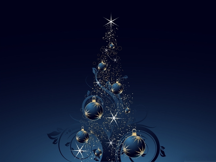 blue christmas tree mac wallpaper download free mac