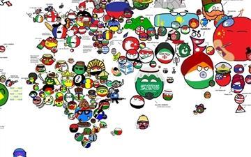 Each country models Mac wallpaper