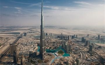 Dubai Tall Tower Mac wallpaper