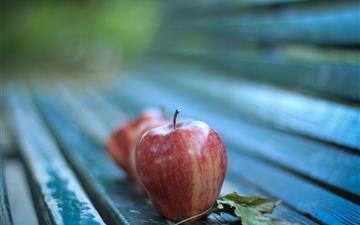 Apples Autumn Mac wallpaper