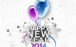 Bye bye 2013  welcome 2014 Mac wallpaper