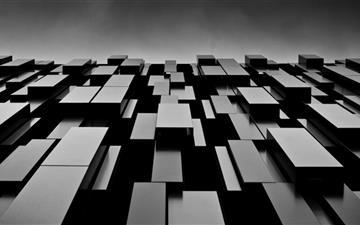 Black Boxes Mac wallpaper