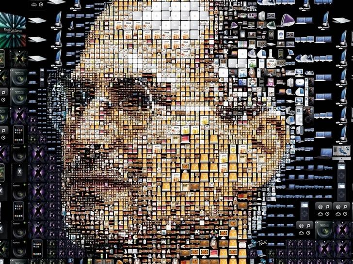 Steve Jobs Apple Mac Wallpaper