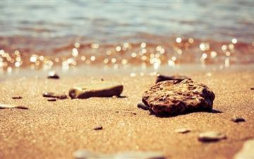 Beach Pebbles2 Mac wallpaper