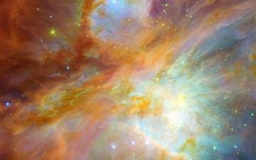 Milky way galaxies Mac wallpaper