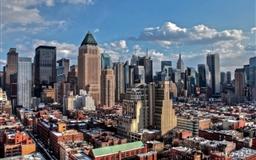 New York city winter Mac wallpaper