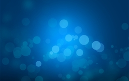 Abstract blue Mac wallpaper
