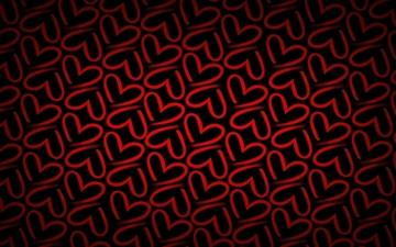 Minimalistic pattern red Mac wallpaper