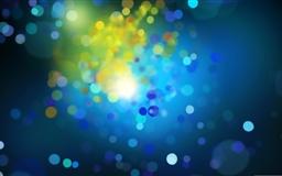 Blue Drops 2 Mac wallpaper