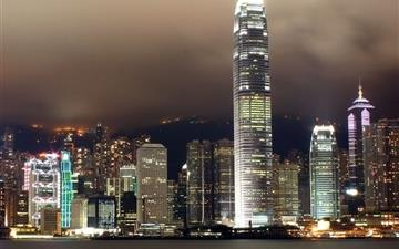 Hong Kong City Scape Mac wallpaper