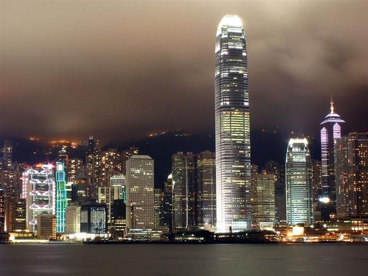 Hong Kong City Scape Mac Wallpaper
