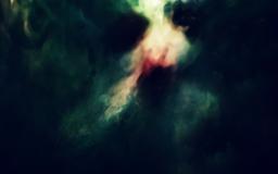 Blurry Face Artistic Mac wallpaper