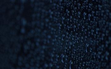 Water drops macro Mac wallpaper