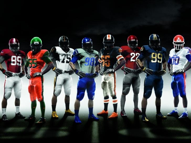 American Football Players Mac Wallpaper
