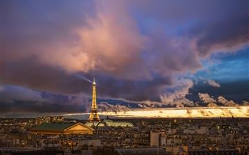 Paris After The Storm Mac wallpaper
