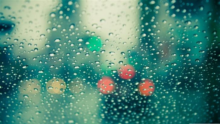 Wet Windscreen Mac Wallpaper
