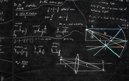 Blackboard And Math Mac wallpaper