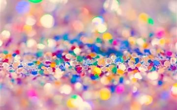 Colorful Glitter Mac wallpaper