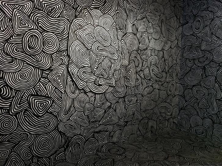 Easter psychedelic pattern Mac Wallpaper