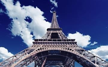 Eiffel Tower Bottom Up View Mac wallpaper