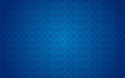 Blue retro pattern Mac wallpaper
