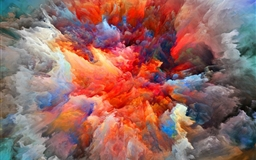 Explosion Of Colors Mac wallpaper