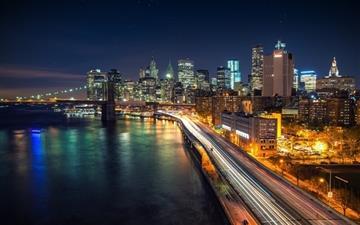 Manhattan Nights Mac wallpaper