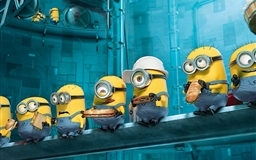 Paradise Minions Despicable Me Mac wallpaper