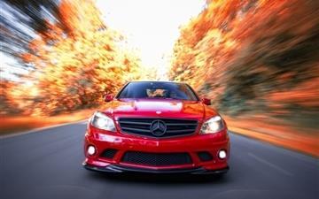 Mercedes Benz C63 Amg Mac wallpaper