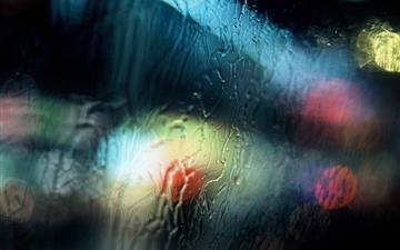 Wet Window Photography Mac wallpaper