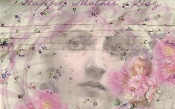 Vintage Mothers Day Mac wallpaper