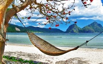 Paradise Relaxing Corner Mac wallpaper