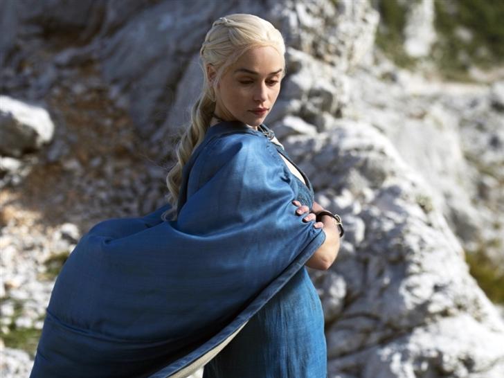 Daenerys Targaryen In Game Of Thrones Mac Wallpaper