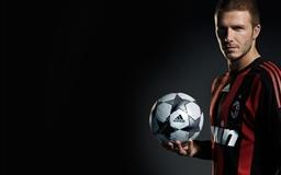 Football star Beckham Mac wallpaper