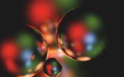 Bubbles Mac wallpaper