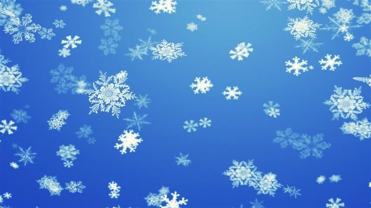 Snowflakes Mac Wallpaper