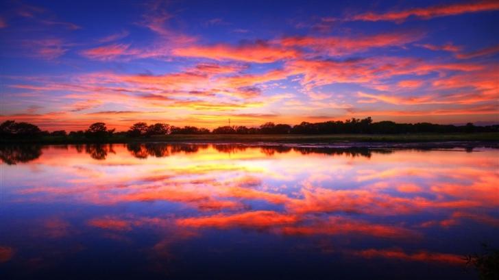 Pastel Sunset Mac Wallpaper