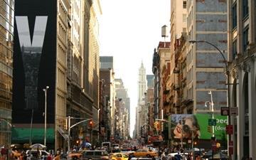 Manhattan World Mac wallpaper