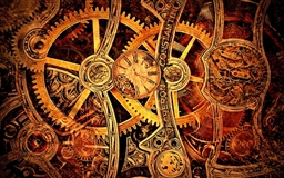1920 Vintage mechanism gear Mac wallpaper