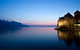 Water Castle Mac wallpaper