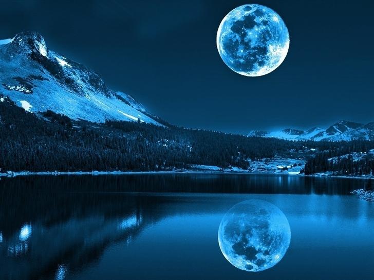 Full Moon Mac Wallpaper