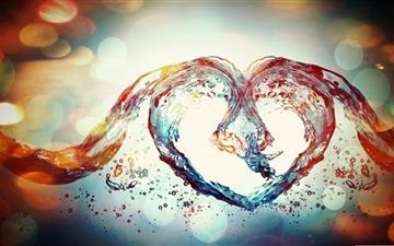 Love Symbol Mac wallpaper