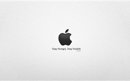 Stay hungry stay foolish Mac wallpaper