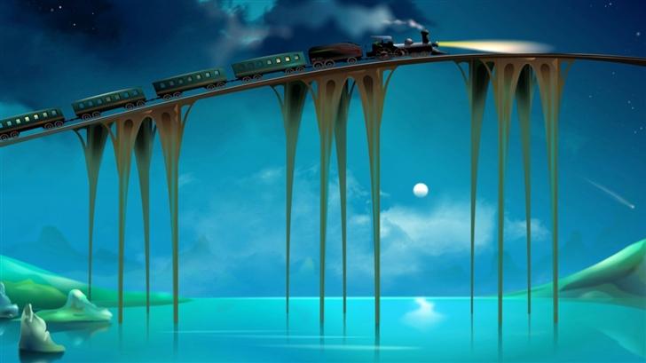 Dream Train Mac Wallpaper
