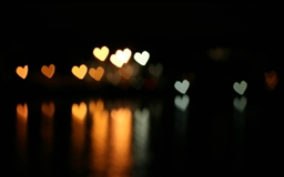 Heart Bokeh Mac wallpaper
