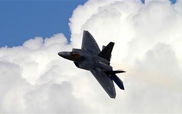 Lockheed Martin F 22 Raptor Mac wallpaper