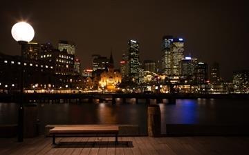 Sydney At Night Mac wallpaper