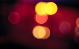 Blurred Car Lights Mac wallpaper