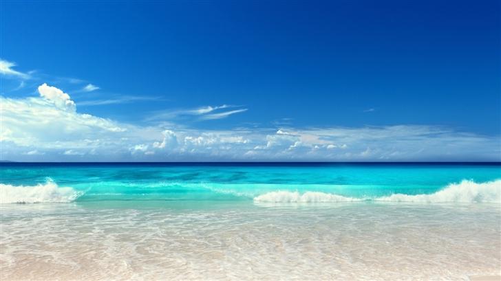 Pure Beach Mac Wallpaper