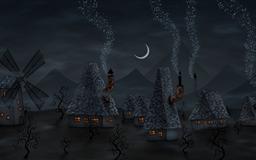 The night's notes Mac wallpaper